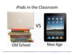 Old School vs New Age iPad