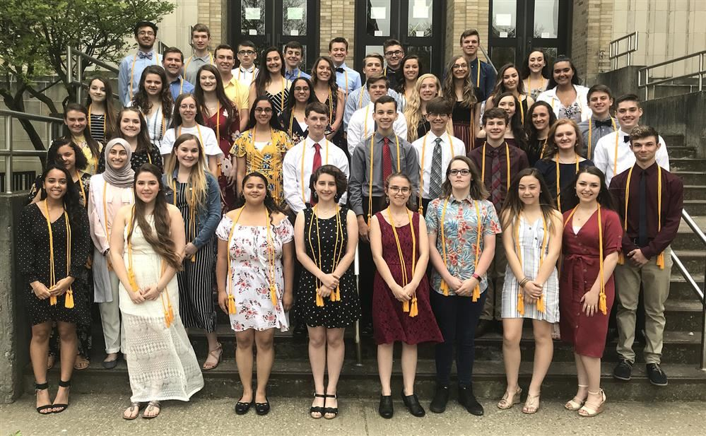 JHS Inducts 49 National Honor Society Members