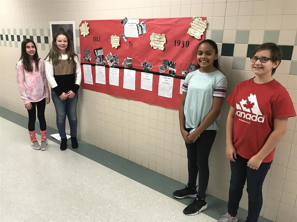 Jefferson 6th Graders Create Great Depression Project