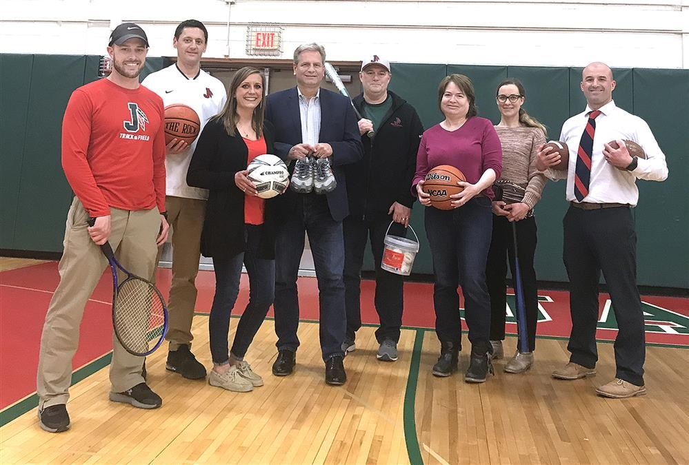 Jamestown PROMISE Fund Holds Athletic Equipment Drive!