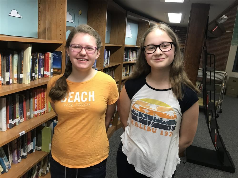 Persell Students, Olivia Beach and Abrielle Monaghan, Selected as Winners for RHJ Center Essay Contest
