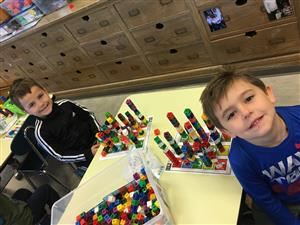 Number Towers and Patterns