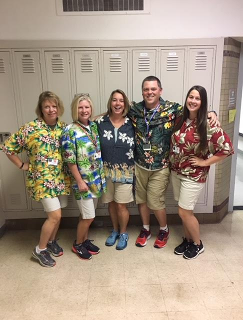 Math Department Spirit Week