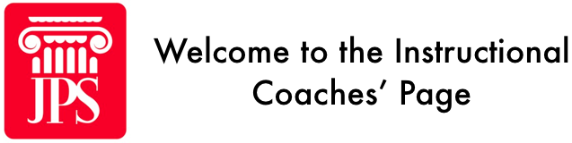 Welcome to Jamestown's Instructional Coaches' Page
